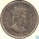 Cayman Islands 25 cents 1996