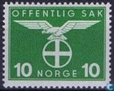 Postage Stamps - Norway - 1942 Bird Natonale Party 10