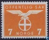 Postage Stamps - Norway - 1942 Bird Natonale Party 7