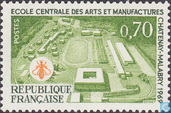 Postage Stamps - France [FRA] - Engineering School Châtenay