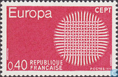 Postage Stamps - France [FRA] - Europe – Braided Sun