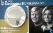 "Netherlands 10 euro 2002 (coincard) ""Royal wedding Willem-Alexander and Máxima"""