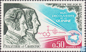 Postage Stamps - France [FRA] - Discovery quinine