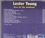Disques vinyl et CD - Young, Lester - Live at The Birdland