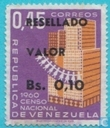 Imprint RESELLADO VALOR stamps 1958-1964