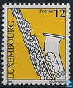 Postage Stamps - Luxembourg - Musical Instruments