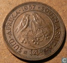 South Africa ¼ penny 1957