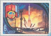 Space flight with Mongolia