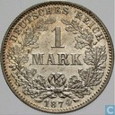 Empire allemand 1 mark 1874 (G)