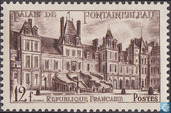Postage Stamps - France [FRA] - Castle Fontainebleau