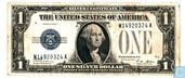 United States $ 1 1928 (silver certificate, blue seal)