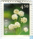 Postage Stamps - Norway - 450 green