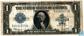 United States $ 1 1923 (silver certificate, blue seal)