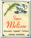 Tea bags and Tea labels - Arome d'Afrique - Super Mélisse