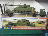 AEC Articulated Tank Transporter with Chieftain Tank