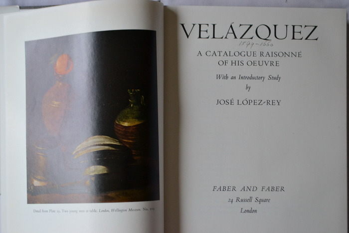 Velazquez Catalogue Raisonne