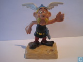 Asterix Pen holder