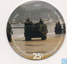 AAFES 25c 2007 Military Picture Pog Gift Certificate 10E251