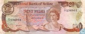 BELIZE 20 Dollars