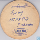 Kostbaarste item - For my return trip I choose SABENA / I saw the Brussels Exhibition from the sky by a SABENA helicopter