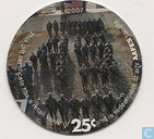 AAFES 25c 2007 Military Picture Pog Gift Certificate 10A251
