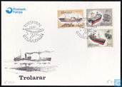Postage Stamps - Faroe Islands - Fishing Boats