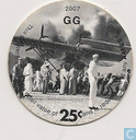 AAFES 25c 2007 Military Picture Pog Gift Certificate 10B251