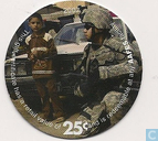 AAFES 25c 2007 Military Picture Pog Gift Certificate 10K251