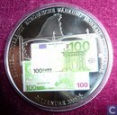 "Duitsland 100 euro 2002 ""European Currencies"""