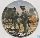 AAFES 25c 2007 Military Picture Pog Gift Certificate 10M251WO
