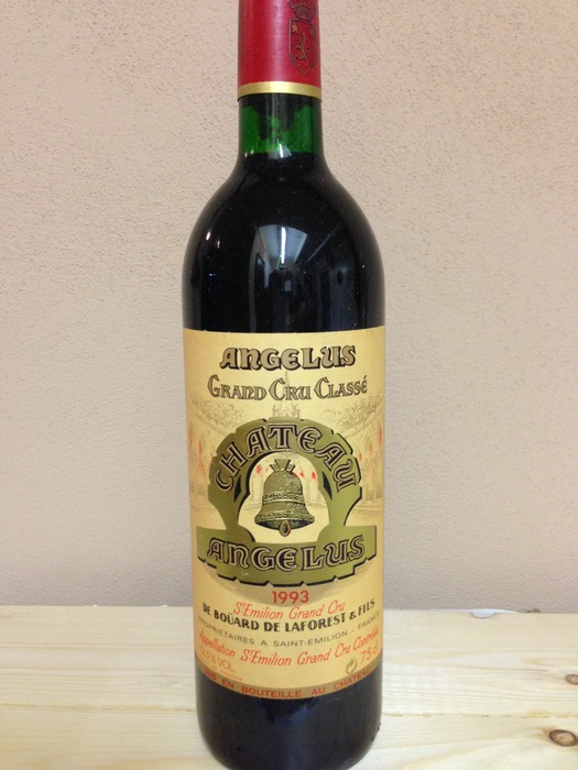 Chateau angelus grand cru 1993 1 bottle catawiki for Chateau angelus