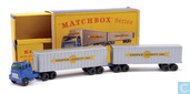 Model cars - Matchbox - Inter-State Double Freighter