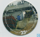 AAFES 25c 2007 Military Picture Pog Gift Certificate 10F251