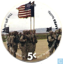 AAFES 5c 2006B Military Picture Pog Gift Certificate 9G51