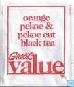 orange pekoe & pekoe cut black tea