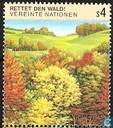 Timbres-poste - Nations unies - Vienne - Save the Forest