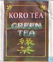 Tea bags and Tea labels - Koro Tea - Green Tea