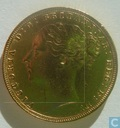 Australia 1 sovereign 1876 (S)