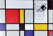Piet Mondrian ; composition