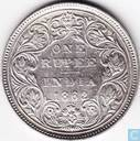 British India 1 rupee 1862 (A/II 0/5)