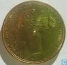Australia 1 sovereign 1875 (M)