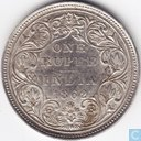 British India 1 rupee 1862 (A/II 0/4)
