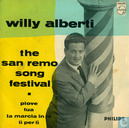 The San Remo songfestival 1959