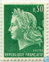 Postage Stamps - France [FRA] - Marianne type Cheffer