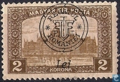 House of Parliament, with overprint