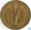 West African States 5 francs 1971