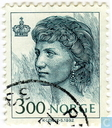 Briefmarken - Norwegen - Königin Sonja