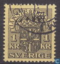Postage Stamps - Sweden [SWE] - 100 Black