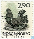 Timbres-poste - Norvège - Capercaillie