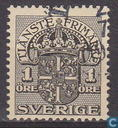 Postage Stamps - Sweden [SWE] - 1 Black